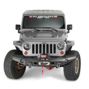 Bullbar WARN Elite pentru Jeep Wrangler JK