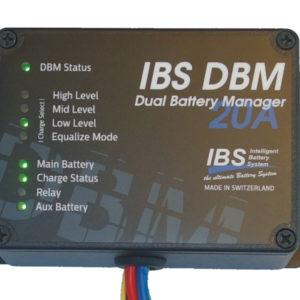 Sistem doua baterii IBS-DBM