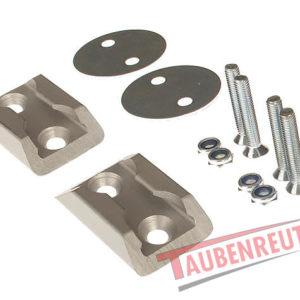 Set sine aluminiu 2 x 45 mm