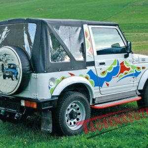 Soft Top Suzuki Samurai negru