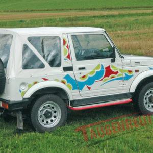 Soft Top Suzuki Samurai alb