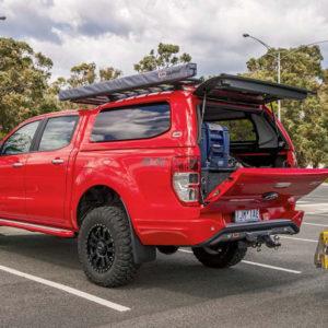 Telescoape oblon Ford Ranger 2012-2018